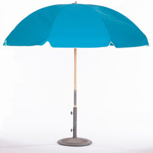 Caribbean-Blue-Umbrella