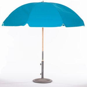 Caribbean-Blue-Umbrella