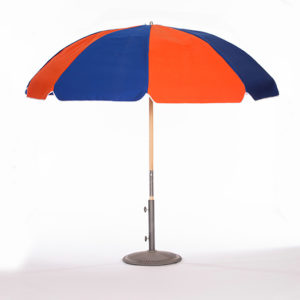 Orange-and-Pacific-Blue-Umbrella