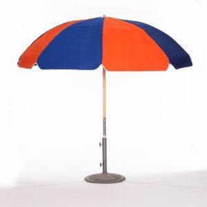 Orange-and-Pacific-Blue-Umbrella