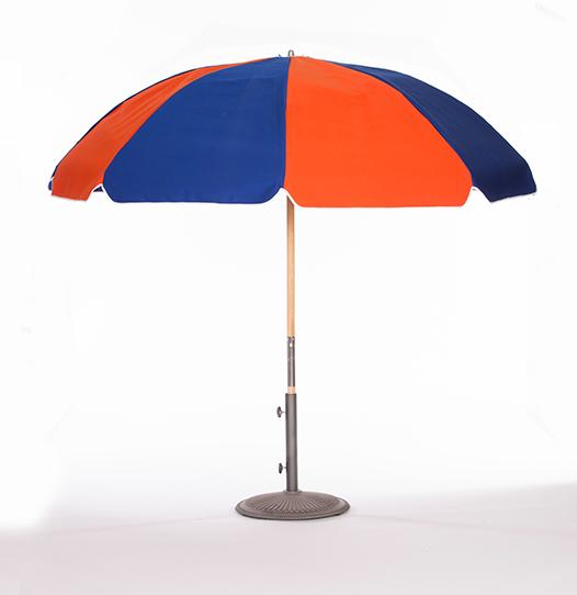 Alternating Color Beach Umbrella - Lack's Outdoor Furniture