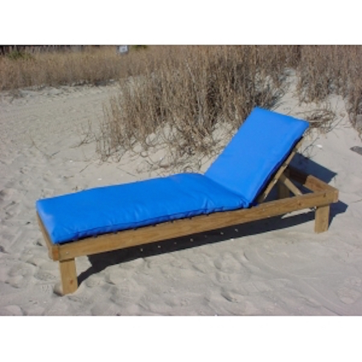Marine acrylic 3 cushion lack 39 s outdoor furniture for 24 wide chaise lounge cushions